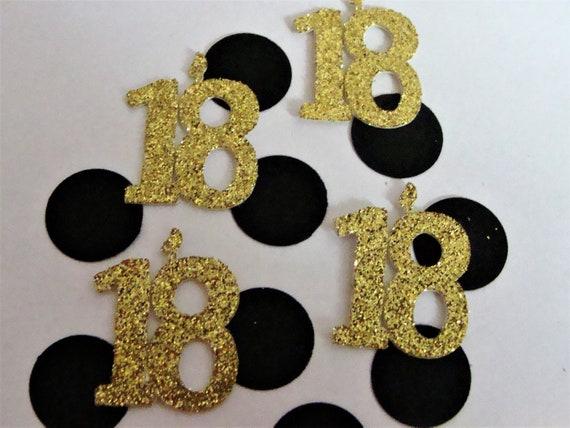 18th Party Decorations Confetti Anniversary