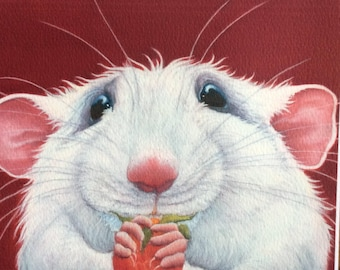 "rat painting ""Kevin"""