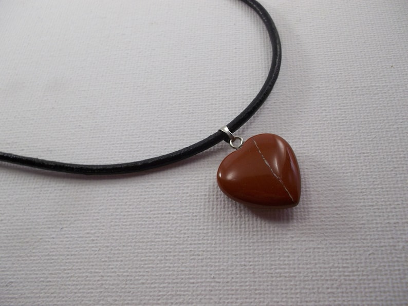 Jssper pendant necklace Jasper Necklace Jasper Heart Pendant Necklace Jasper Chakra necklace,