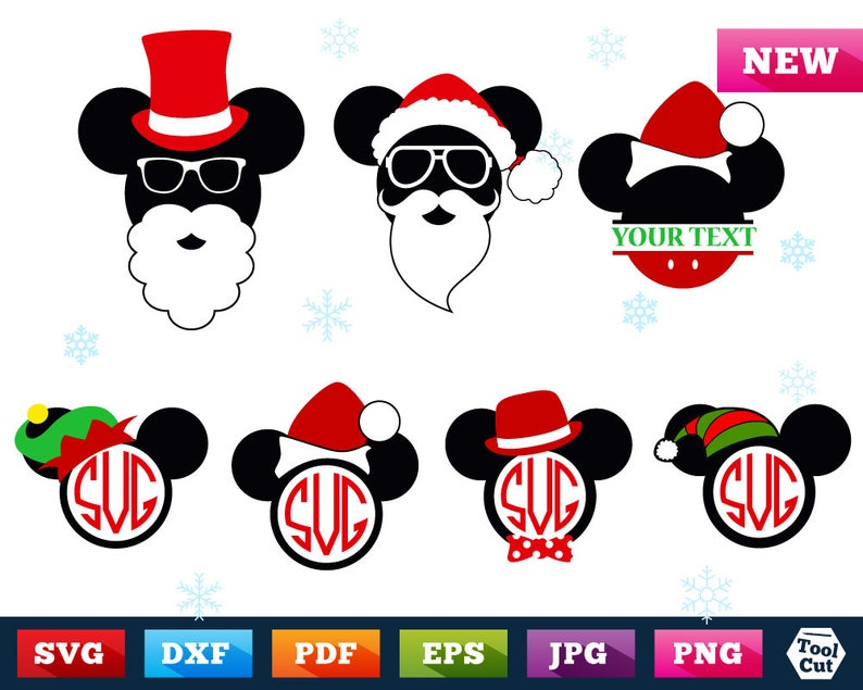 Disney Mickey /& Minnie Mouse Stickers-Anniversaire Noël Cadeau de Noël papeterie