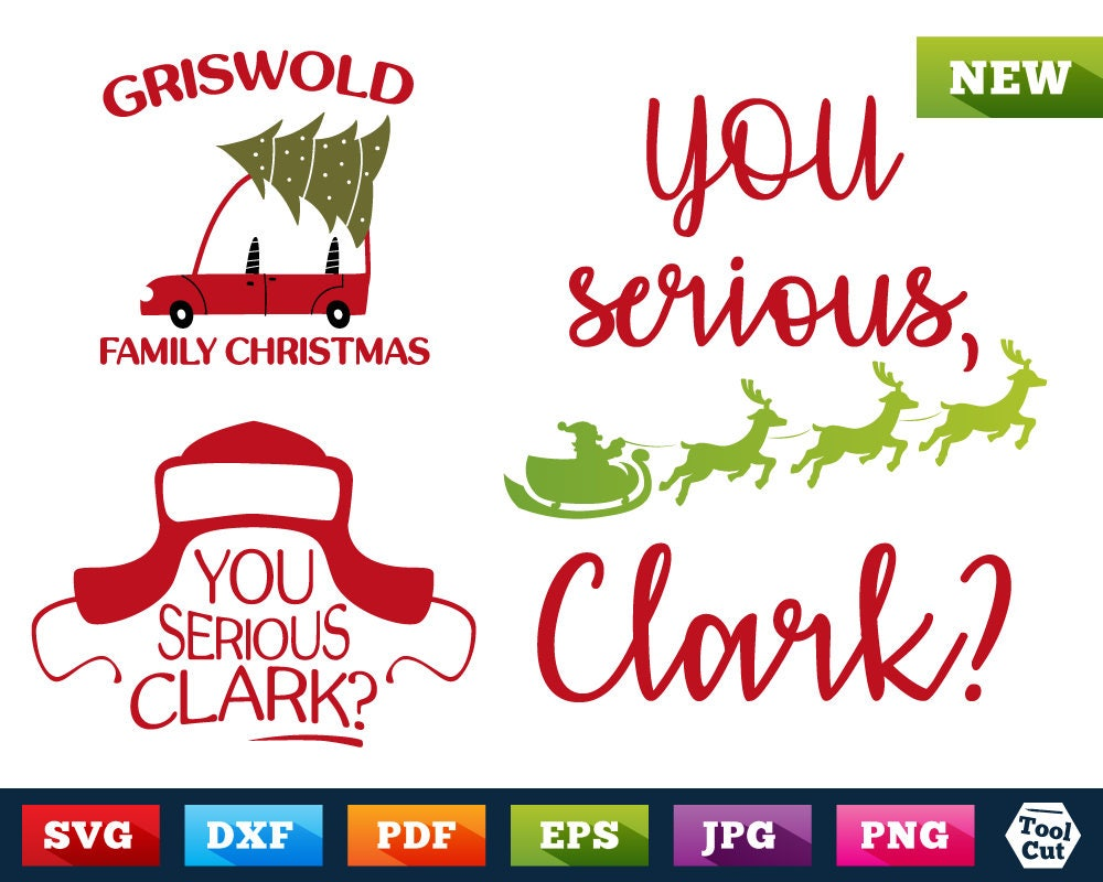 Griswold Family Christmas 3 In 1 Design Bundle Christmas