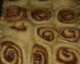 Oooey gooooey cinnamon rolls