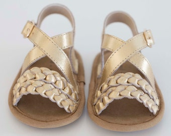 fbae55d3ce6 mimi sandal - gold (soft sole baby shoes)