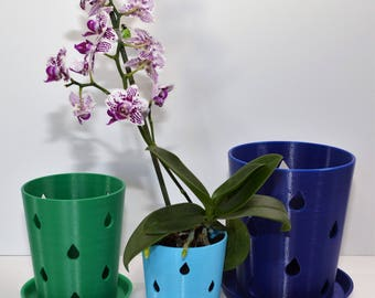 Orchid Pots with Holes