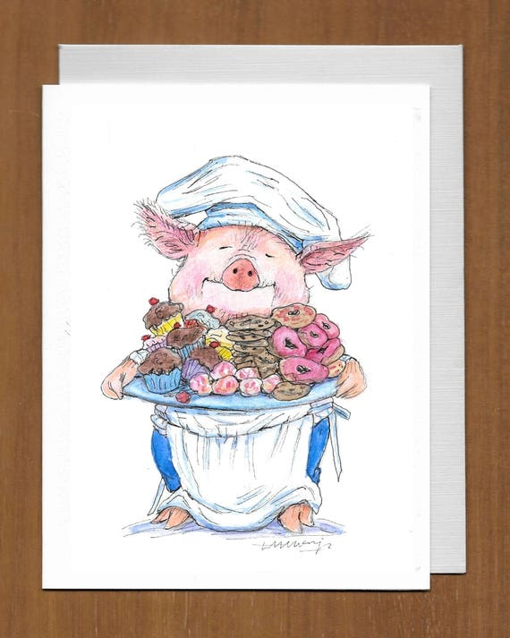29 Sweet Pig Birthday Card Have Your Sweetest Birthday Yet Etsy