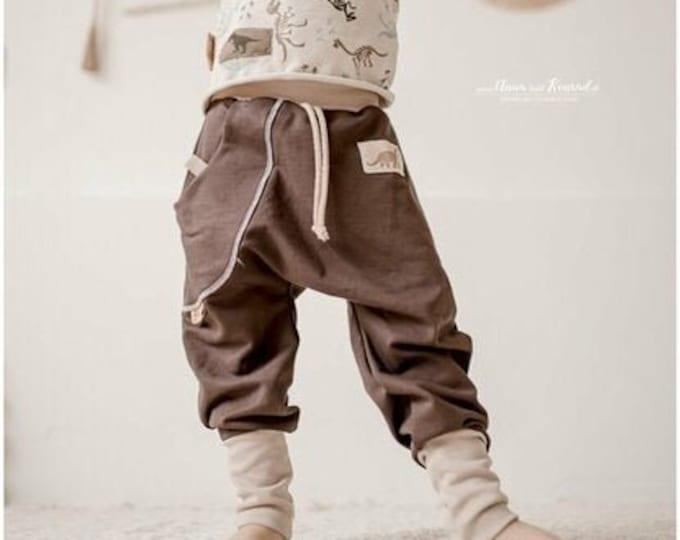 Pump Pants Baby Dino