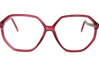 d4050a46108a Vintage Tura Red Eyeglasses Frame Mod335 MAG