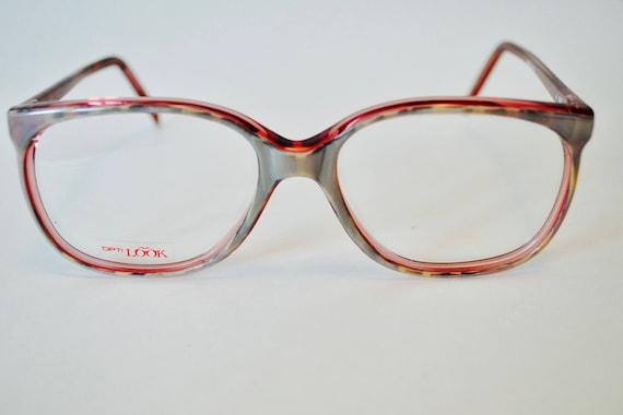 Vintage Opti Look Red Pearlescent Frame