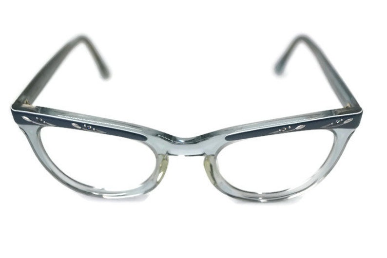 05789dae92c8 Vintage Shuron 5 3/4 Cat Eye Eyeglasses Frame   Etsy