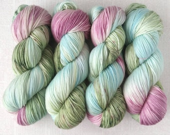 ANNE WITH an E - Hand Dyed Yarn – Choose Weight - Fingering  / Sport / Worsted – Superwash Variegated Yarn