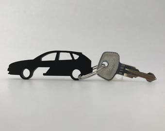 Subaru Impreza WRX Hatchback Bottle Opener Keychain