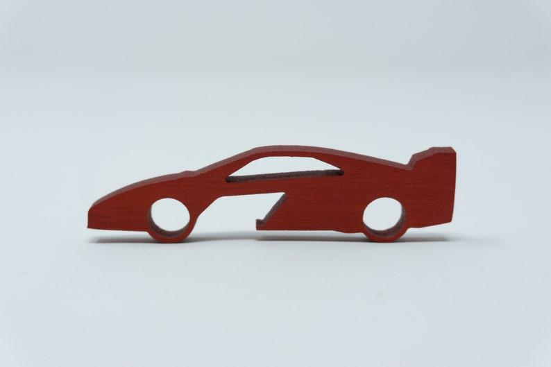Ferrari F40 Bottle Opener Keychain