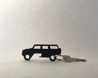 Hummer H2 Bottle Opener Keychain