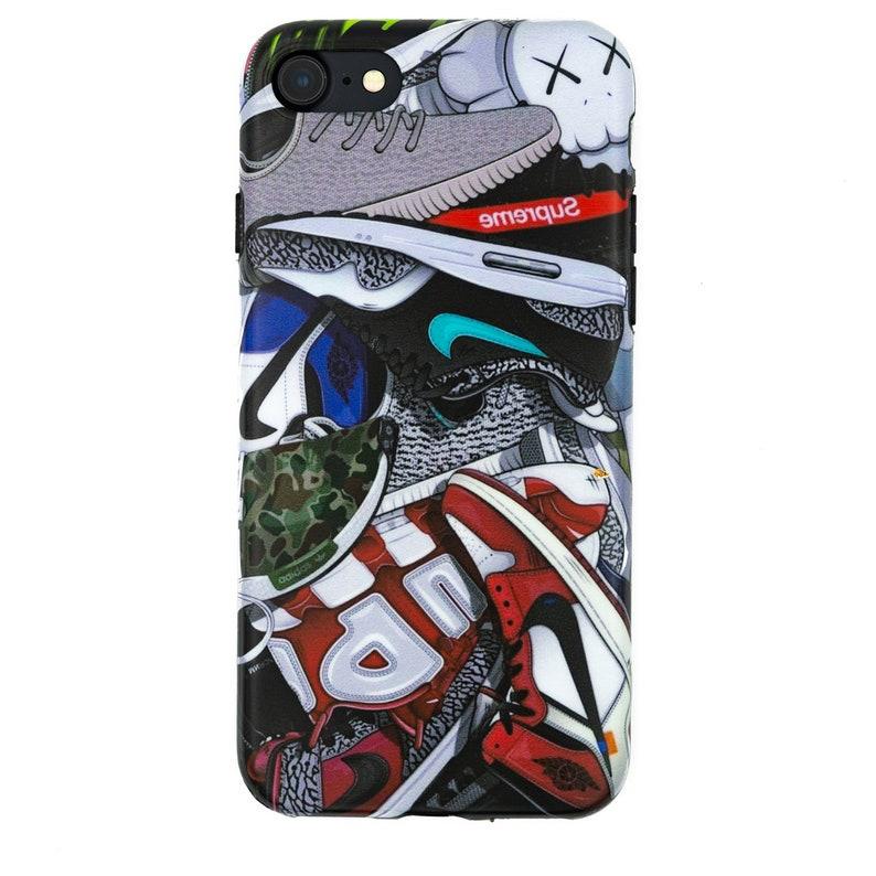 fb5cec02f9e SneakerHead Collage iPhone X XS 6 6s 7 8 Plus Protective Case