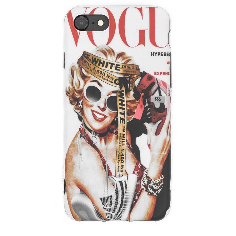 reputable site fadd3 5ec32 Marilyn Monroe x Hypebeast iPhone X XS 6 6s 7 8 Plus Protective Case