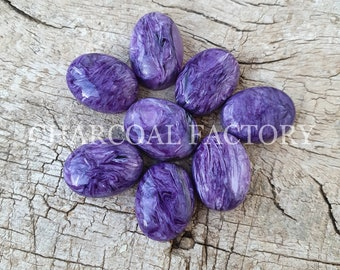 Natural Charoite Smooth Rectangle Shape Cabochon 41x35x6 MM Size Loose Gemstone Really Awesome Finest Quality