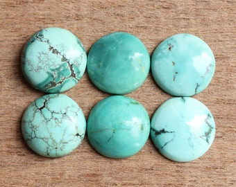 Natural Tibetan Turquoise Round shape calibrated sizes available in 4,5,6,7,8,9,10,11,12,13,14,15,16,17,18,19,20 mm sizes custom sizes avail