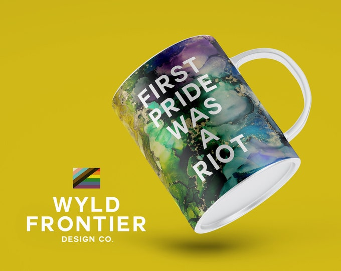 Billy: LGBTQ+ Rainbow Pride Mug