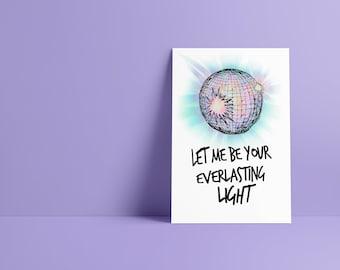 Everlasting Light The Black Keys Minimalist Art Print