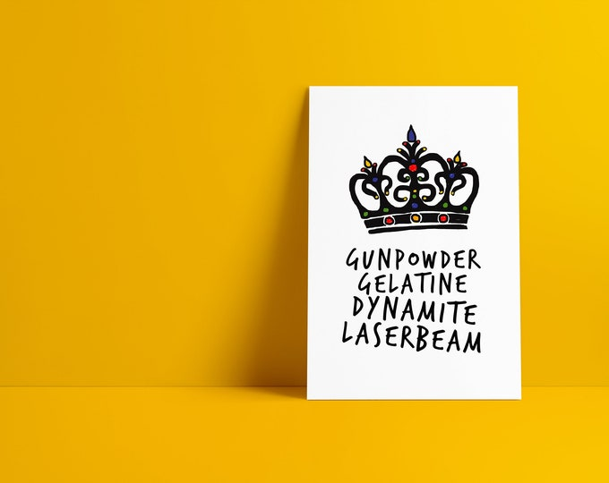 Killer Queen Minimalist Pop Culture Art Print