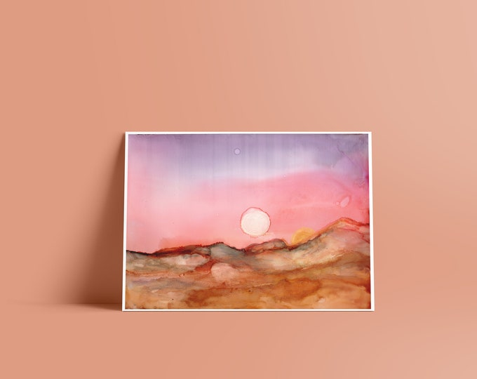 Tatooine: Fine Art Print in Multiple Sizes