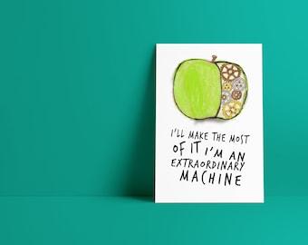 Fiona Apple Extraordinary Machine Lyrics Minimalist Pop Culture Art Print