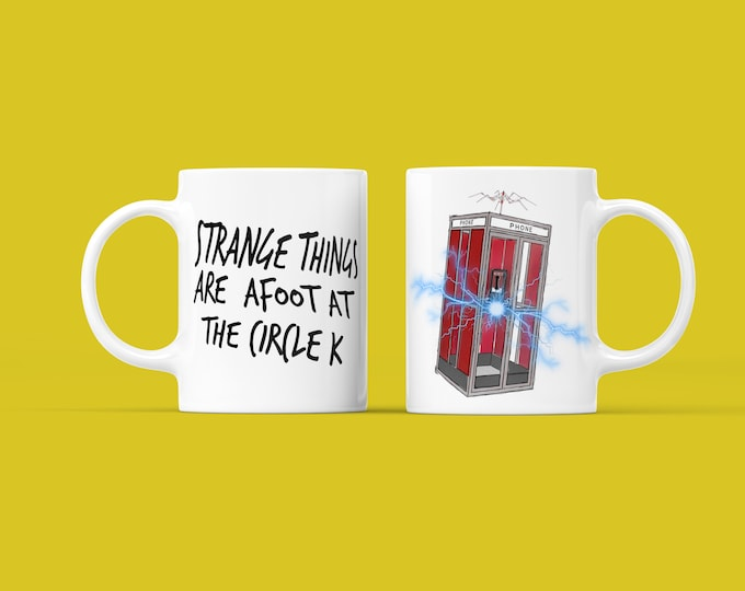 Bill and Ted Strange Things Are Afoot Mug 11oz