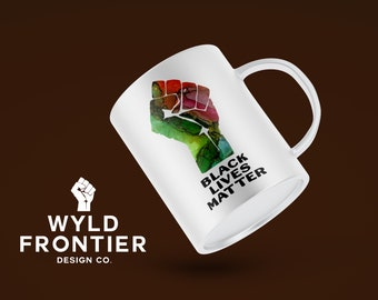 Black Lives Matter 11oz Ceramic Mug