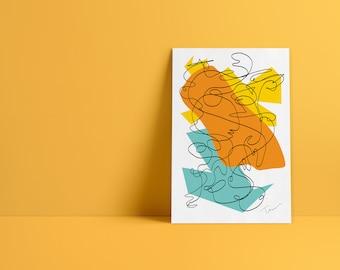 Abstract Modern Prints