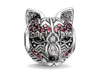 0b761248b447 Pandora fox charm | Etsy