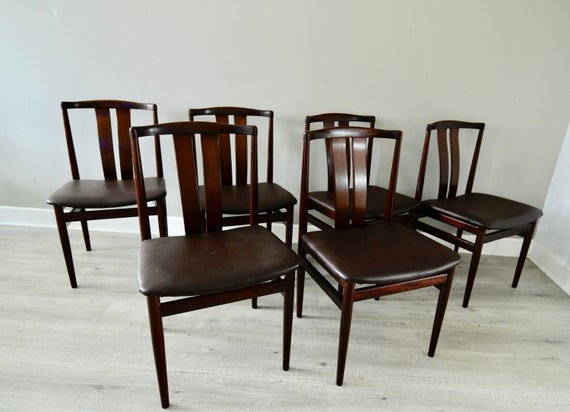 Cool Danish Rosewood Dining Chairs Mid Century X 6 By Vamdrup Stolefabrik Vintage Beatyapartments Chair Design Images Beatyapartmentscom