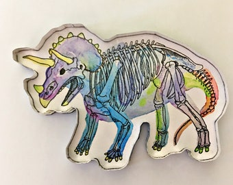 Triceratops Magnet
