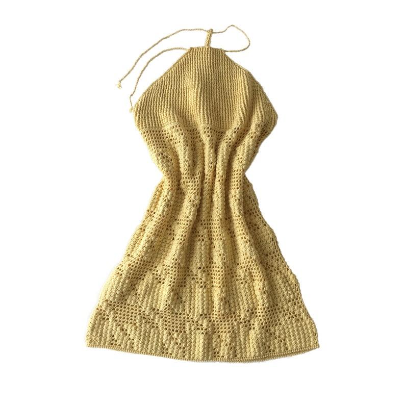 Crocheted Beach DressPDF PATTERN image 0