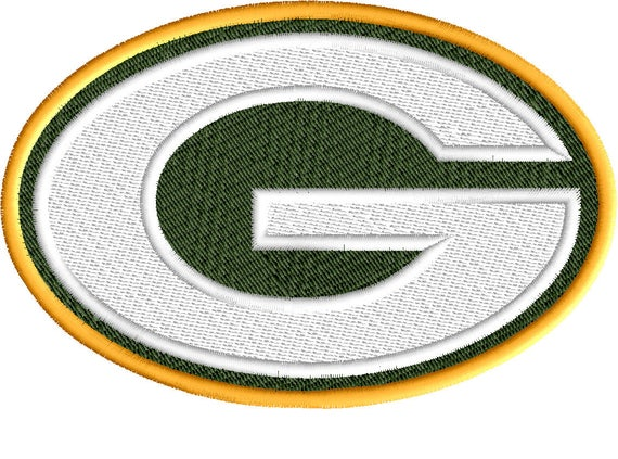 Packers Embroidery Design Football Embroidery Embroidery Etsy