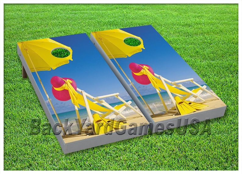 VINYL WRAPS Cornhole Boards DECALS Bowling Alley Bag Toss Game Stickers 188