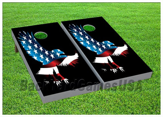 VINYL WRAPS Cornhole Boards DECALS Tennessee Flag Bag Toss Game Stickers 237