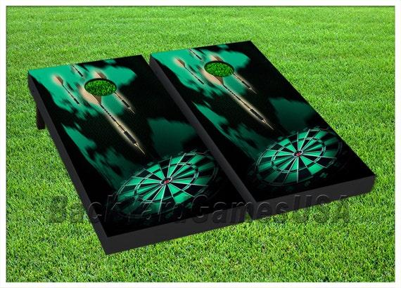VINYL WRAPS Cornhole Boards DECALS Beach Umbrella BagToss Game Stickers 431