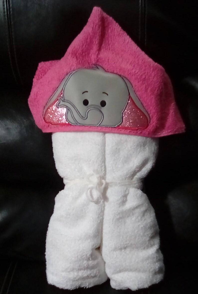 Custom Elephant Hooded Towel **free personalization**