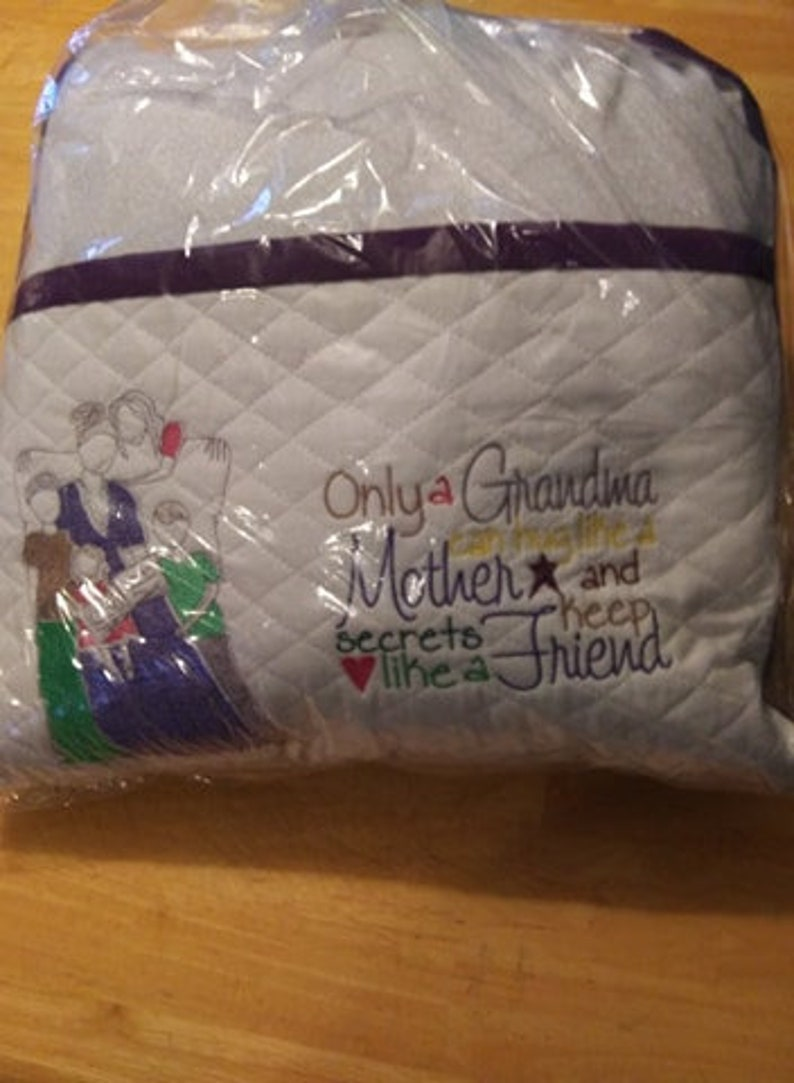 Only a Grandma Reading Pillow