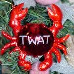 Twat Crab Christmas Tree Decoration