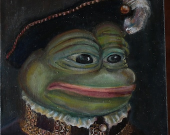 Pepe the Frog - Philippe II of Spain, bitcoins accepted