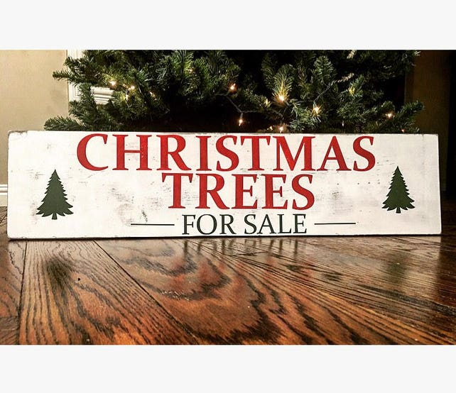 image 0 - Rustic Christmas Tree Decorations For Sale