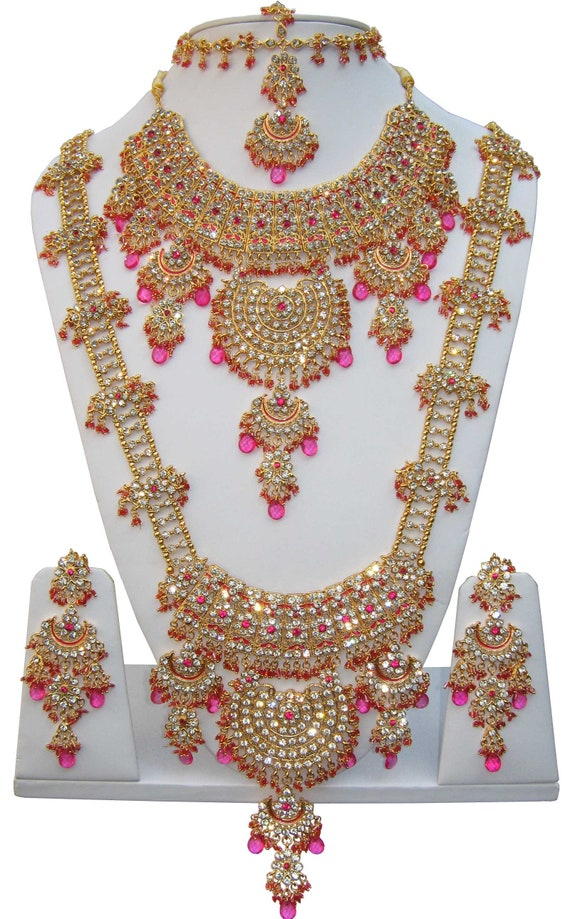 Indian Bollywood Bridal Jewellery Set Jodha Akbar Kundan Etsy
