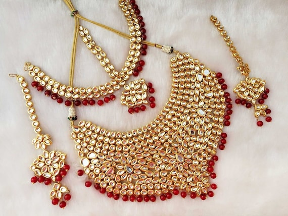 Kundan Jewelry Indian Jewelry Traditional Jewelry Wedding Etsy