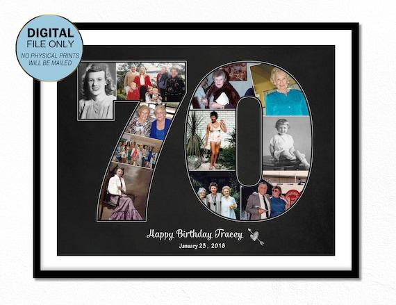 70er Jahre Geburtstag Geschenk Für Ihre Oma 70 Geschenk Für Ihn Opa 70er Jahre Geburtstag Geschenk Ideen Geschenk Für Mutter Geschenk 70 Geburtstag
