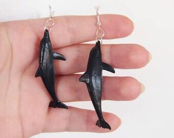 Dolphin - Sea Creature Earrings