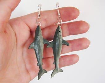 Shark - Sea Creature Earrings