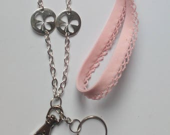 "Neck keychain / ""Luck"" badge holder"