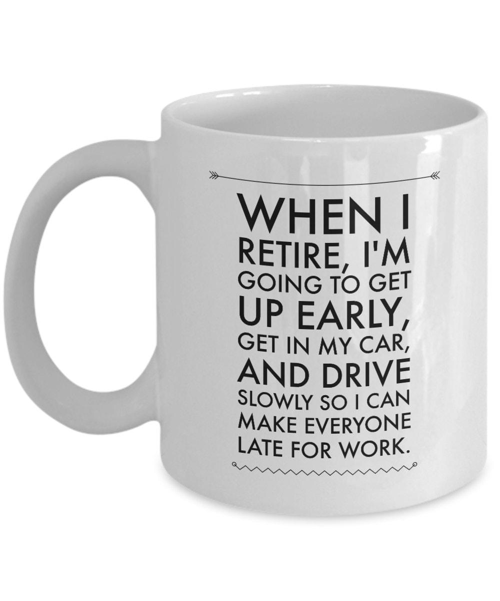 Ruhestand Becher Ruhestand Kaffeetassen im Ruhestand | Etsy