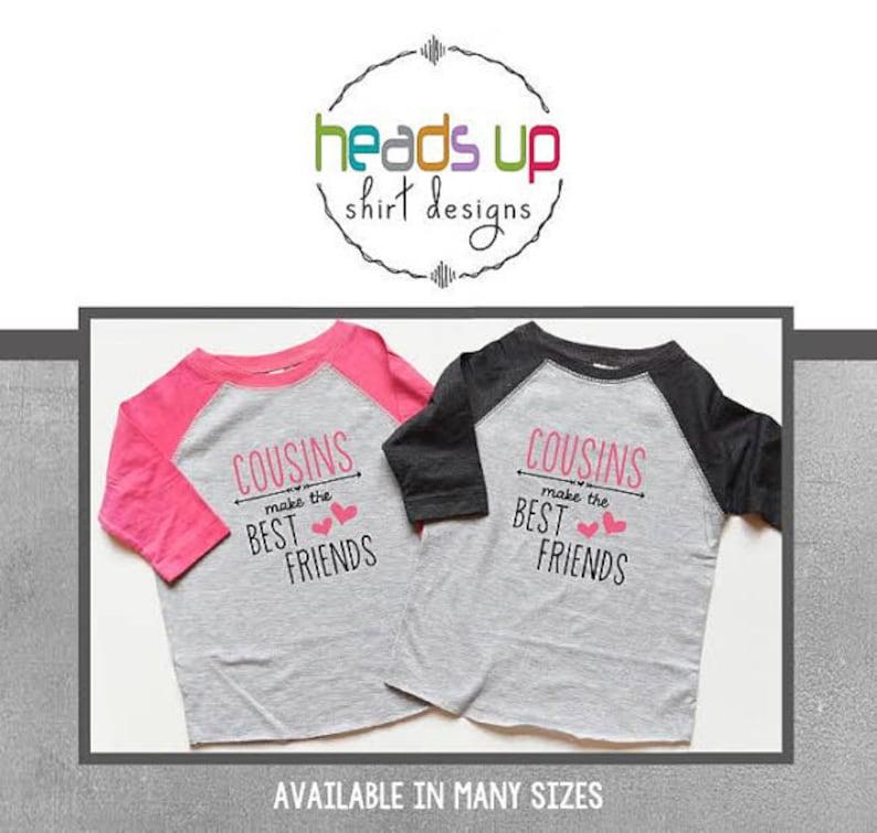 f0957bfe2 Cousins Make the Best Friends toddler Raglan Shirts Best | Etsy